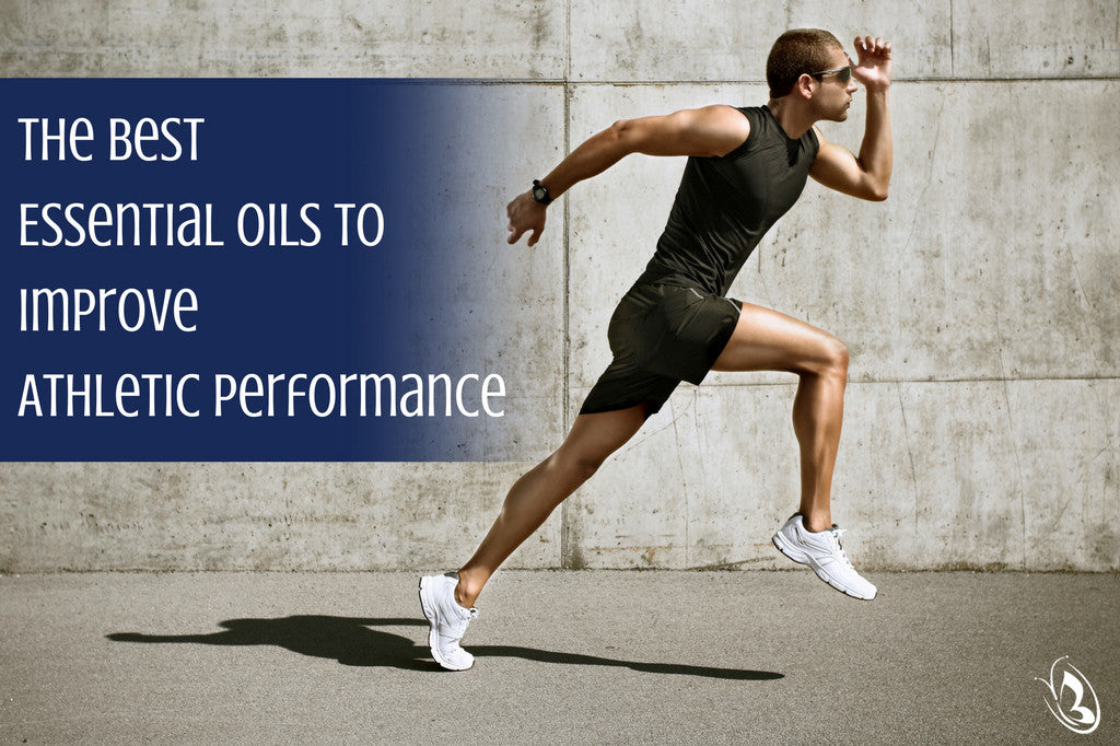 Essential Oils to Improve Athletic Performance