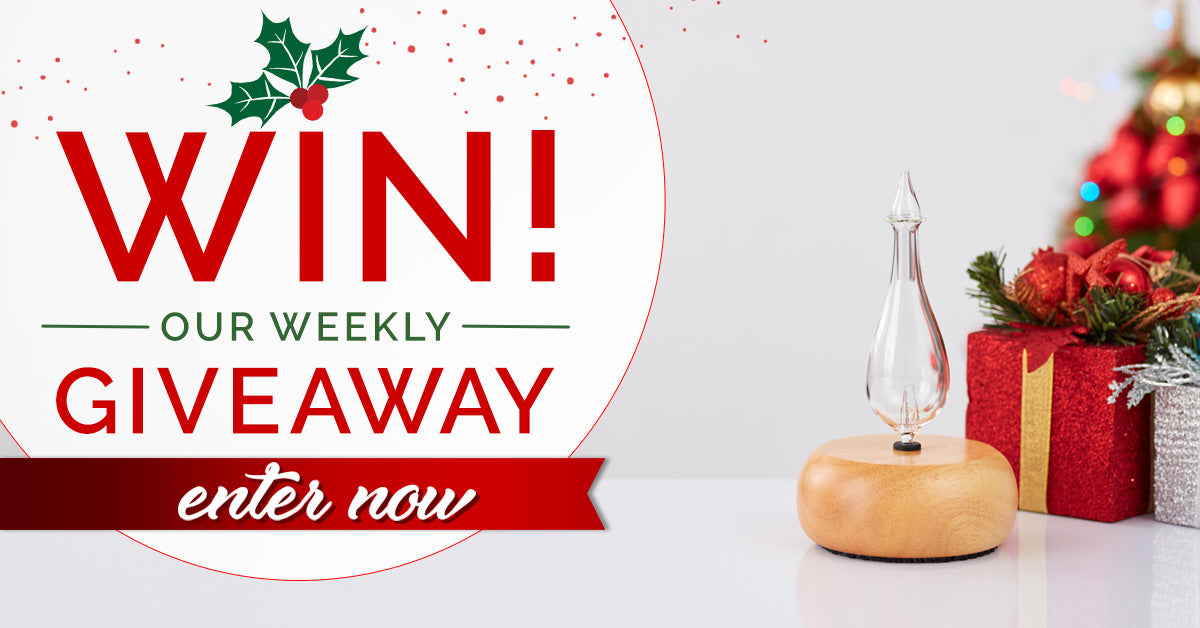 Organic Aromas Weekly Giveaway December 24 2018