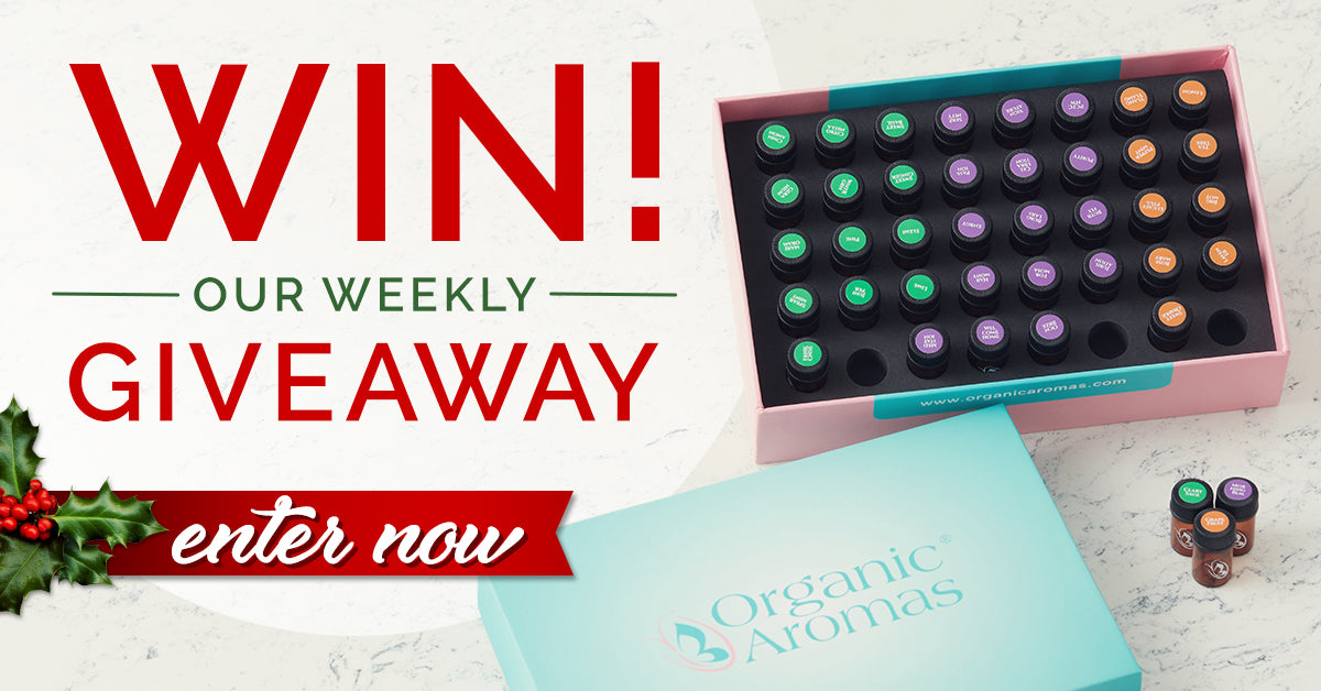 Weekly Giveaway Discovery Collection by Organic Aromas