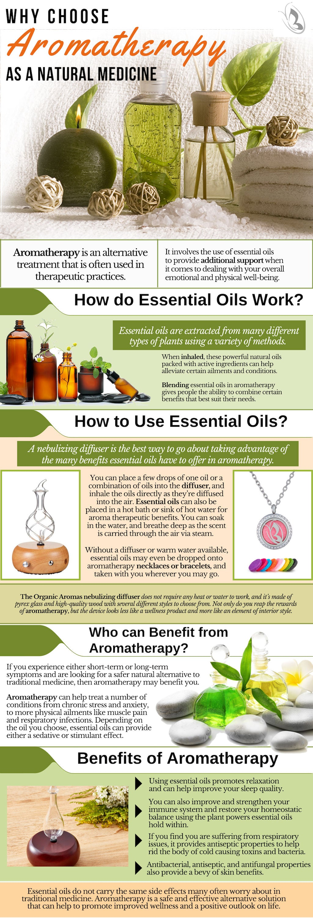 Why Choose Aromatherapy as a Natural Medicine?