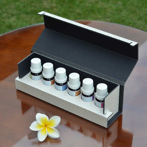 Designer Series Luxury Gift Box of Essential Oil Blends by Organic Aromas