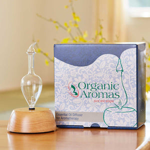 Elegance Essential Oil Diffuser Packaging by Organic Aromas