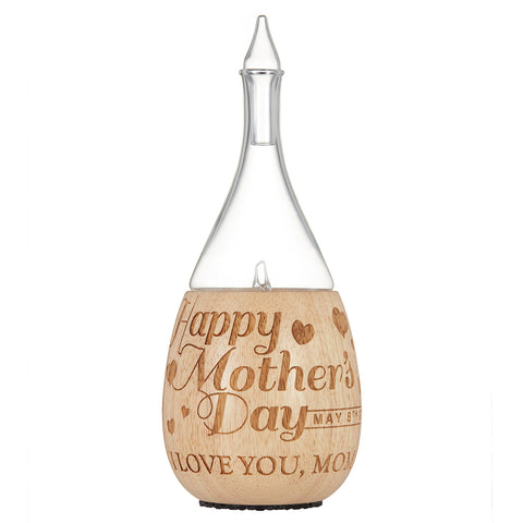 Laser Engraved Mothers Day Essential Oil Diffuser by Organic Aromas