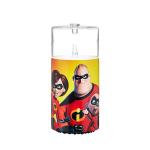 Image of the Incredibles 2 movie by Pixar on Organic Aromas Nebulizing Diffuser (not available due to copyright)