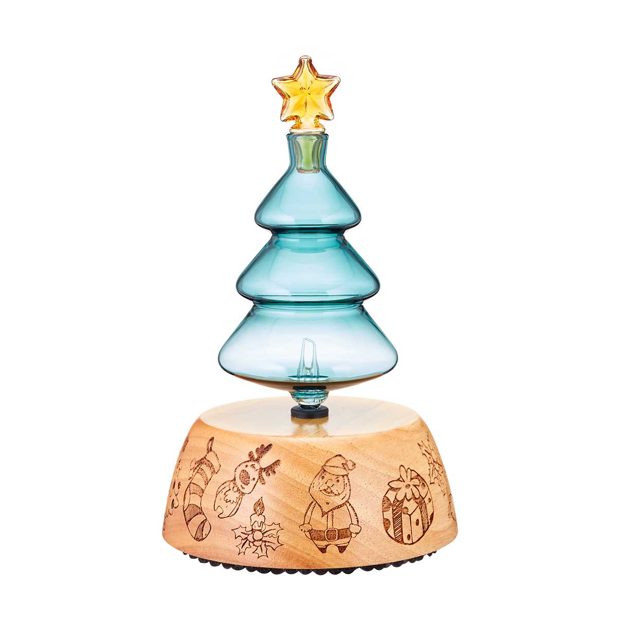 Christmas Tree Nebulizing Diffuser for Aromatherapy - Organic Aromas