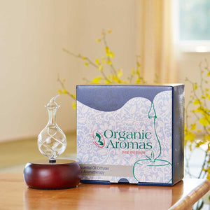Radiance Essential Oil Diffuser Box by Organic Aromas