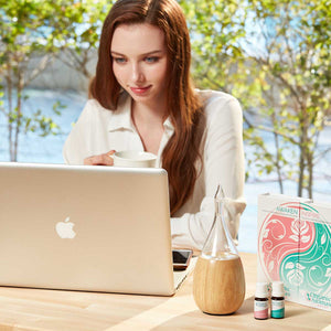 Raindrop Nebulizing Diffuser to Help Focus