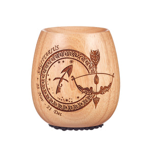Laser Engraved Sagitarius Essential Oil Diffuser by Organic Aromas
