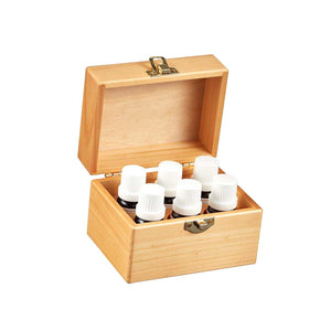 Wood box of the best 6 essential oils