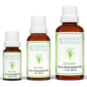 Citronella Essential Oil 100% Pure