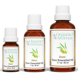 elemi pure essential oil by organic aromas all sizes