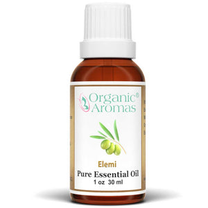 elemi pure essential oil by organic aromas 30ml