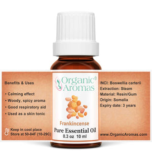 frankincense pure essential oil open label 10ml