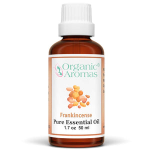 frankincense pure essential oil by organic aromas 50ml