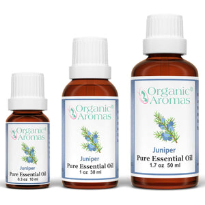 juniper pure essential oil by organic aromas all sizes