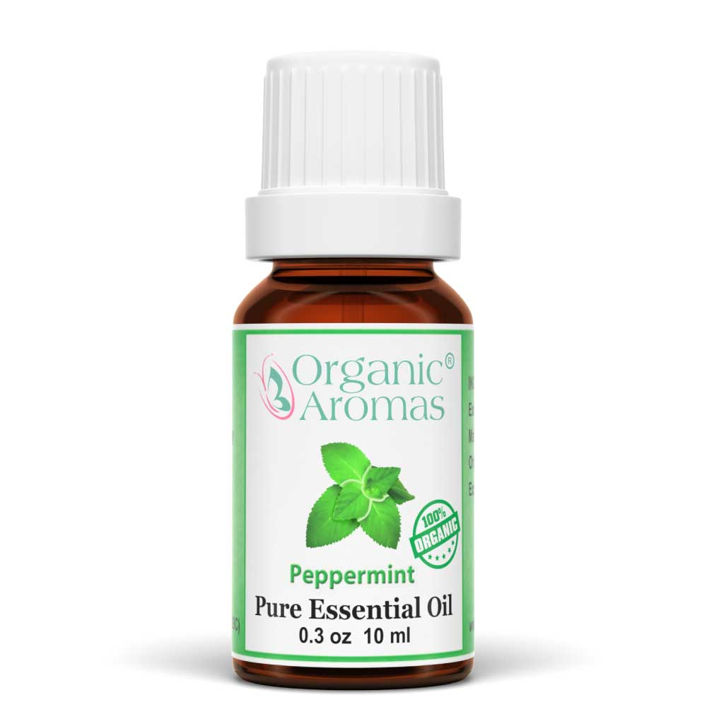 Peppermint Essential Oil 100% Pure Organic