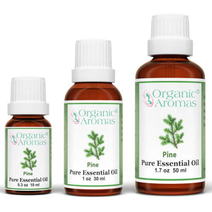 pine pure essential oil by organic aromas all sizes