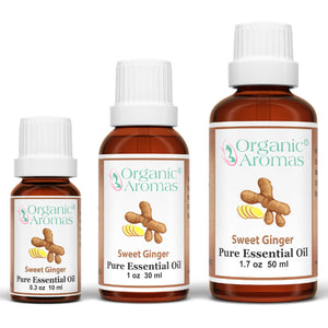 Sweet Ginger Essential Oil 100% Pure