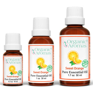 Sweet Orange Essential Oil 100% Pure Organic