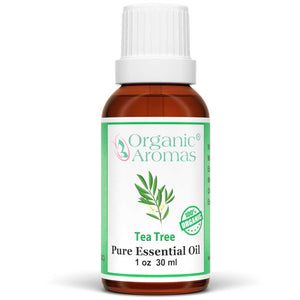 tea tree pure essential oil by organic aromas 30ml