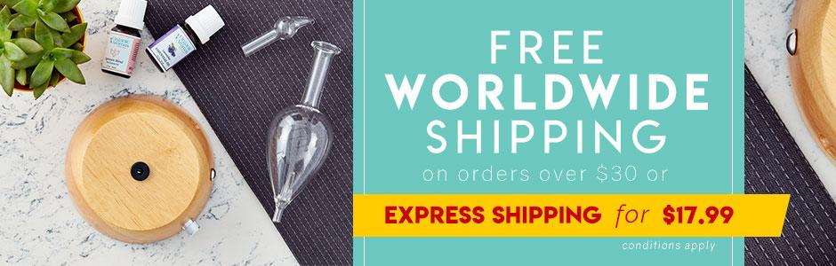 Shipping Policy - Organic Aromas