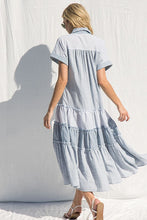 Load image into Gallery viewer, Patch Stripe Dress