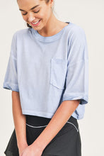 Load image into Gallery viewer, Mineral Wash Cropped Tee