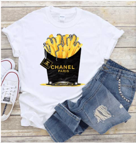 Fries Graphic Tee
