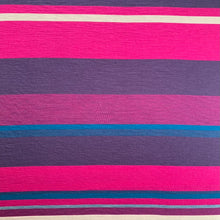 Load image into Gallery viewer, Engineered Stripe Merino - Hot Pink