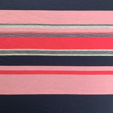 Load image into Gallery viewer, Engineered Stripe Merino - Blush