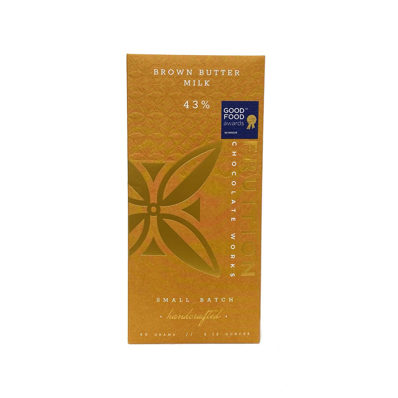 Fruition Browned Butter Milk Chocolate 43%