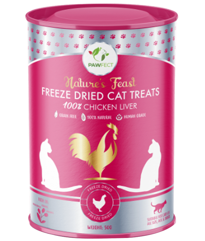 Finest Freeze-Dried Chicken Liver Treats
