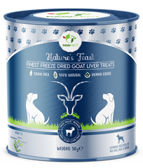 Finest Freeze-Dried Goat Liver Treats