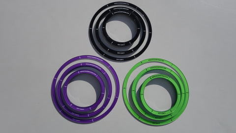 Thin AOE rings Bundle 5x 3', 3x 4', 1x 5'