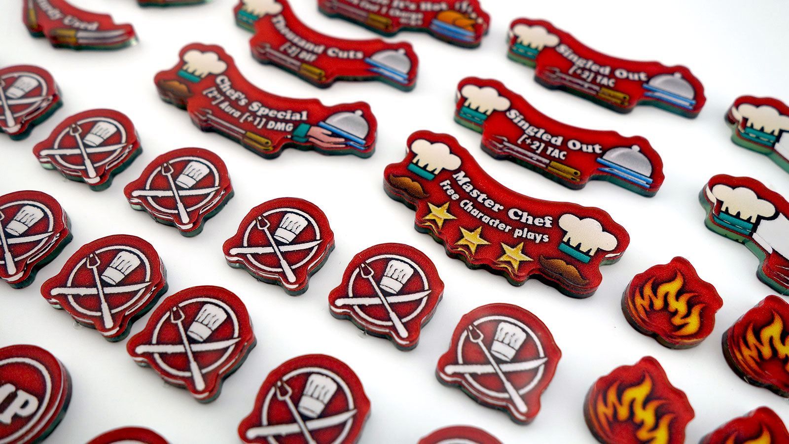 Cook's Hell's Kitchen Season 4 Token set