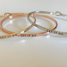 "Load image into Gallery viewer, ""let it go"" bracelet by recovery matters"