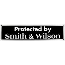 Load image into Gallery viewer, protected by smith and wilson bumper sticker