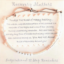 Load image into Gallery viewer, happy destiny bracelet by recovery matters