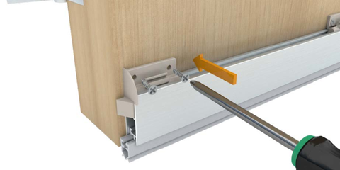 ... NOR820 Surface Mounted Automatic Drop Door Seal  sc 1 st  Fire Seal Shop : drop door - pezcame.com