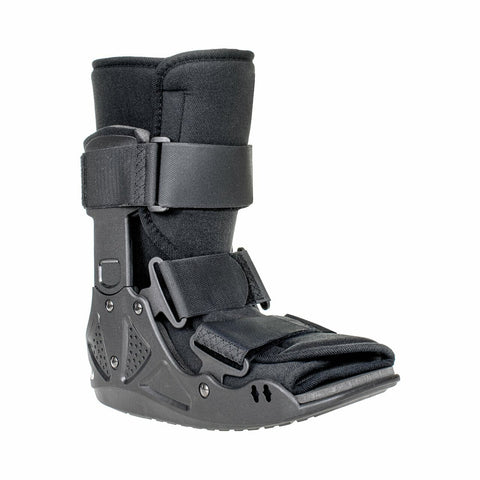 McKesson Black Walker Boot for Either Right or Left Foot