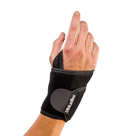 Wrist Support Mueller® Left or Right Hand Black One Size Fits Most