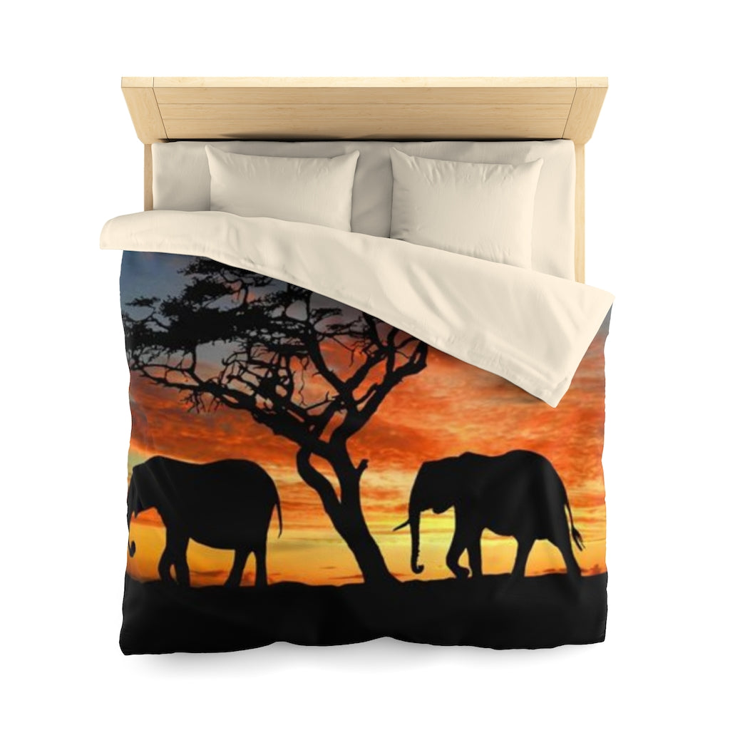 African Elephant Bedding Set TUTU - Queen