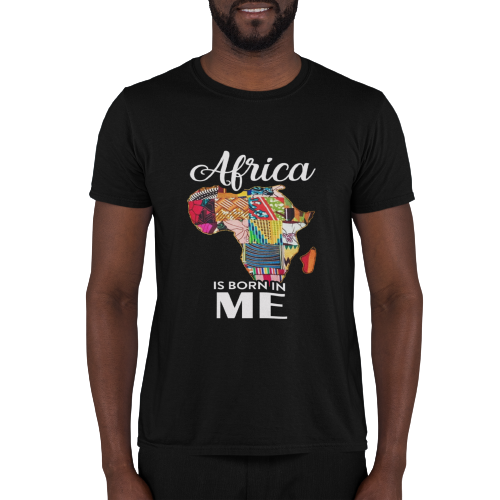 Africa-Is-Born-In-Me-T-Shirt