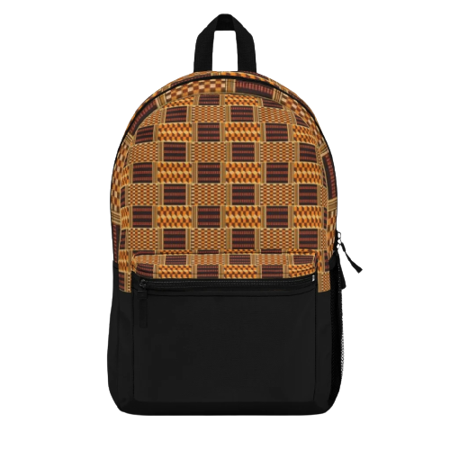 African-Backpack-KENITA-Front