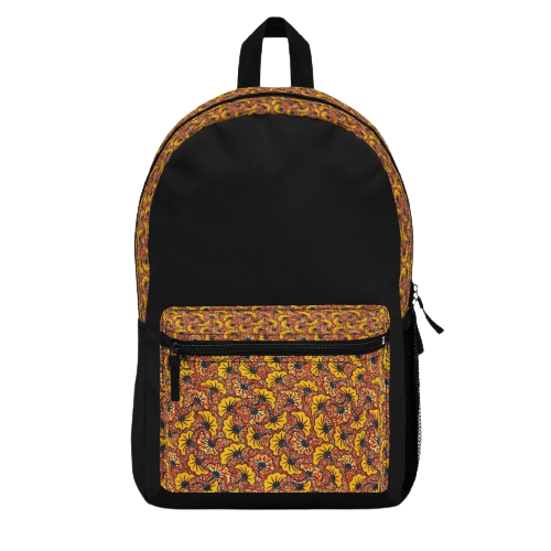 African-Backpack-MALINKA-Front