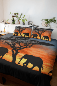 African Elephant Bedding Set TUTU