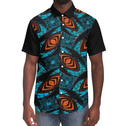 African-Shirt-KIMFU-Front-View