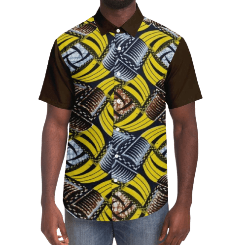 African-Shirt-OKUNDE-Front-View