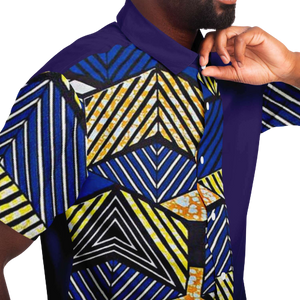 African Colorful Shirt ORE - Close View