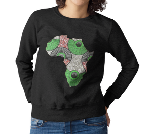 African Map Sweatshirt WUMI